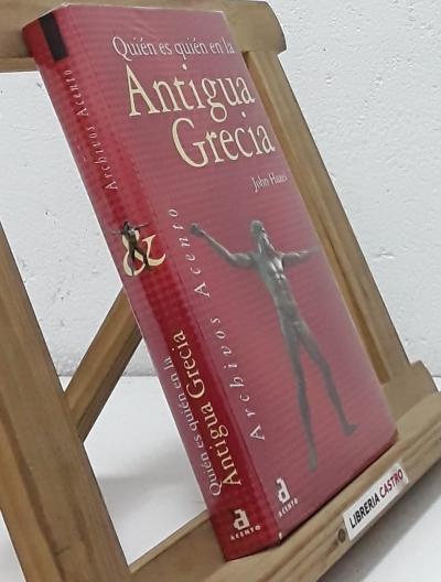 Quién es quién en la Antigua Grecia - John Hazel