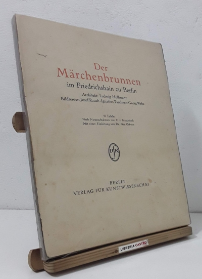 Der Märchenbrunnen im Friedrichshain zu Berlin. - Ludwig Hoffmann