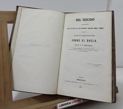 Del Suicidio - P.J.C. Debreyne