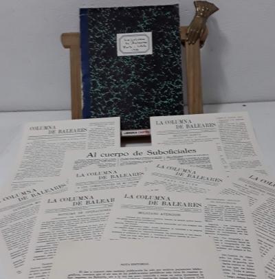 La Columna de Baleares. Porto Cristo 1936. Diario de Combate antifascista. (Facsímil) - Varios