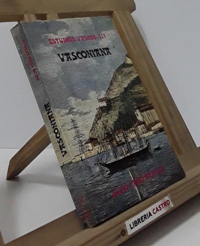 Vasconiana - Julio Caro Baroja