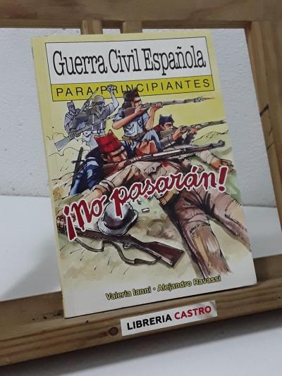 Guerra Civil Española para principiantes - Valeria Ianni
