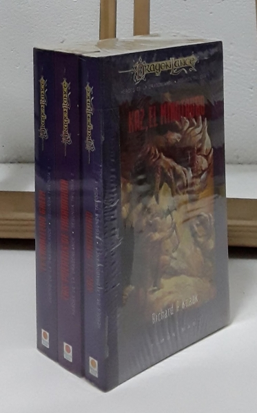 Héroes de la DragonLance, segunda trilogía. I Kaz, el minotauro, II Las Puertas de Thorbardin y III El Caballero Galen (III tomos) - Richard A. Knaak, Dan Parkinson y Michael Williams