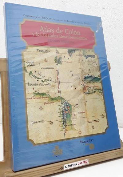 Atlas de Colón y los Grandes Descubrimientos - Kenneth Nebenzhal