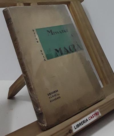 Missatge a Macià - Diego Ruiz