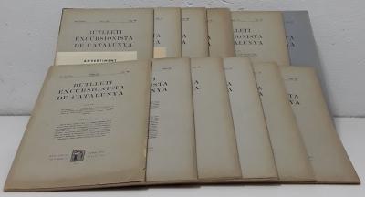 Butlletí Excursionista de Catalunya - 1927 - Any XXXVII. nº380 Gener al nº391 Desembre (XII butlletins) - Varios