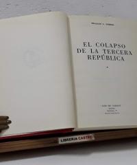 El colapso de la Tercera República - William L. Shirer