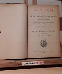 Aplech. Models en vers y en prosa del nostre Renaixament - Antón Busquets y Punset