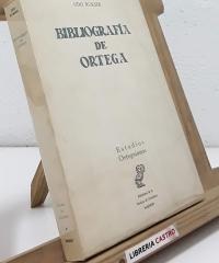 Bibliografía de Ortega - Udo Rukser
