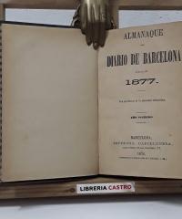 Almanaque del Diario de Barcelona. Año 1877 - Varios