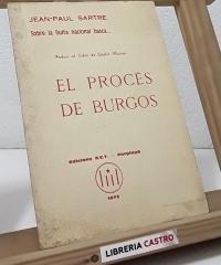 El procés de Burgos - Jean Paul Sartre