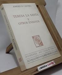 Teresa La Santa y otros ensayos - Américo Castro