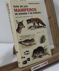Guía de los mamíferos de España y de Europa - Maurice Burton