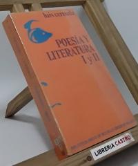 Poesía y literatura I y II - Luis Cernuda