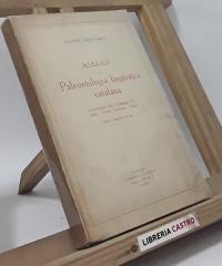 Assaigs de paleontologia lingüística catalana - Joaquim Cases-Carbó