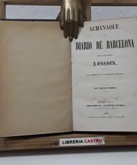 Almanaque del Diario de Barcelona. Año 1888 - Varios