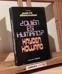 ¿Quien es humano? - Hayden Howard