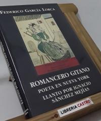 Romancero Gitano, Poeta en Nueva York y Llanto por Ignacio Sánchez Mejías - Federico García Lorca