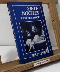 Siete noches - Jorge Luis Borges
