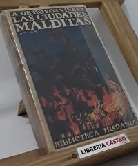 Las ciudades malditas - Antonio de Hoyos y Vinent