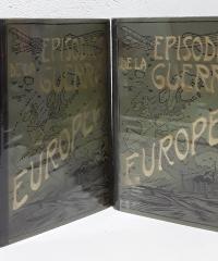 Episodios de la Guerra Europea (VI tomos) - Julián Pérez Carrasco