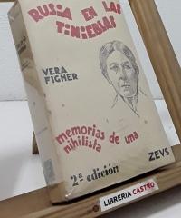 Rusia en las tinieblas - Vera Figner