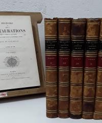 Histoire des deux restaurations (VIII Tomes) - Ach. de Vaulabelle