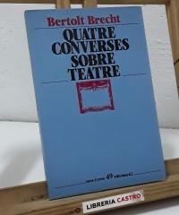 Quatre converses sobre teatre (La compra del llautó) - Bertolt Brecht