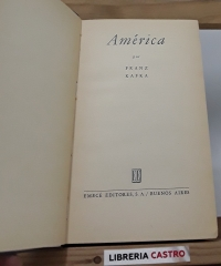 América - Frank Kafka