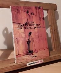 Textos para la historia del pueblo judío - César Vidal