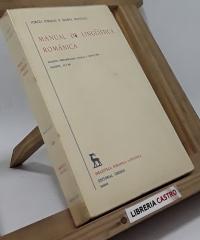 Manual de lingüística románica (II tomos) - Iorgu Iordan y Maria Manoliu