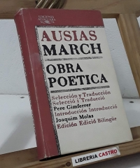 Ausias March. Obra poética - Ausias March
