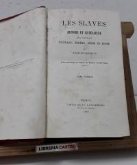 Les Slaves. Histoire et littérature des nations polonaise, bohème, serbe et russe (III Tomos en I) - Adam Mickiewicz