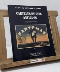 Subasta extraordinaria. Carteles de cine antiguos. 1 de Febrero de 2001 - Varios