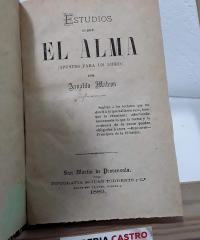 Estudios sobre el alma (apuntes para un libro) - Arnaldo Mateos