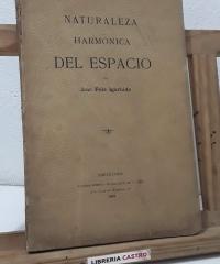 Naturaleza harmónica del espacio - José Fola Igúrbide
