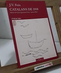 Catalans del 1918 - J. V. foix