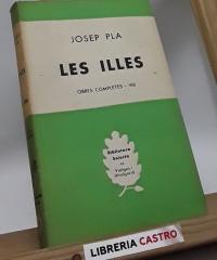 Les illes - Josep Pla