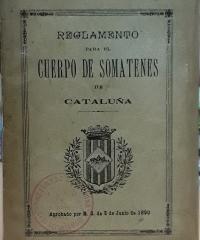 Reglamento para el cuerpo de somatenes de Cataluña - Varios