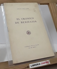 El cronicó de Benifassà - Arcadi Garcia Sanz