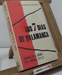 Los 7 días de Salamanca - Ángel Alcazar de Velasco