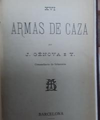 Armas de caza - J. Génova é Y (Comandante de Infantería)