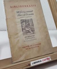 Bibliophasis (edición numerada y en papel de hilo) - Varios
