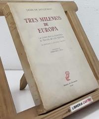 Tres Milenios de Europa - Denis de Rougemont