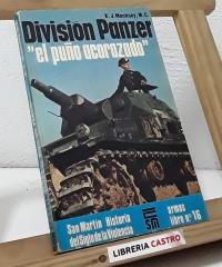 División Panzer. El puño acorazado - K.J. Macksey, M.C