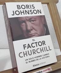 El factor Churchill - Boris Johnson