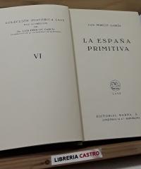 La España Primitiva - Luis Pericot García