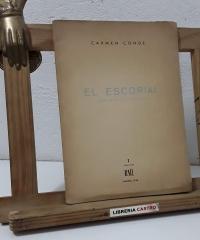 El Escorial. Una meditación más (Dedicado por la autora al poeta Ángel Rodríguez y Numerado) - Carmen Conde