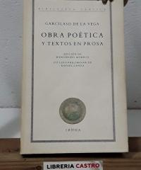 Obra poética y textos en prosa - Garcilaso de la Vega