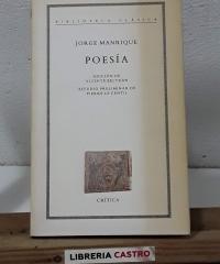 Poesía - Jorge Manrique